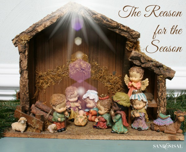 Nativity Scene - The Reason for the Season