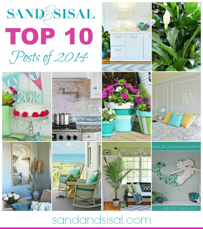 Sand & Sisal's Top 10 Posts of 2014