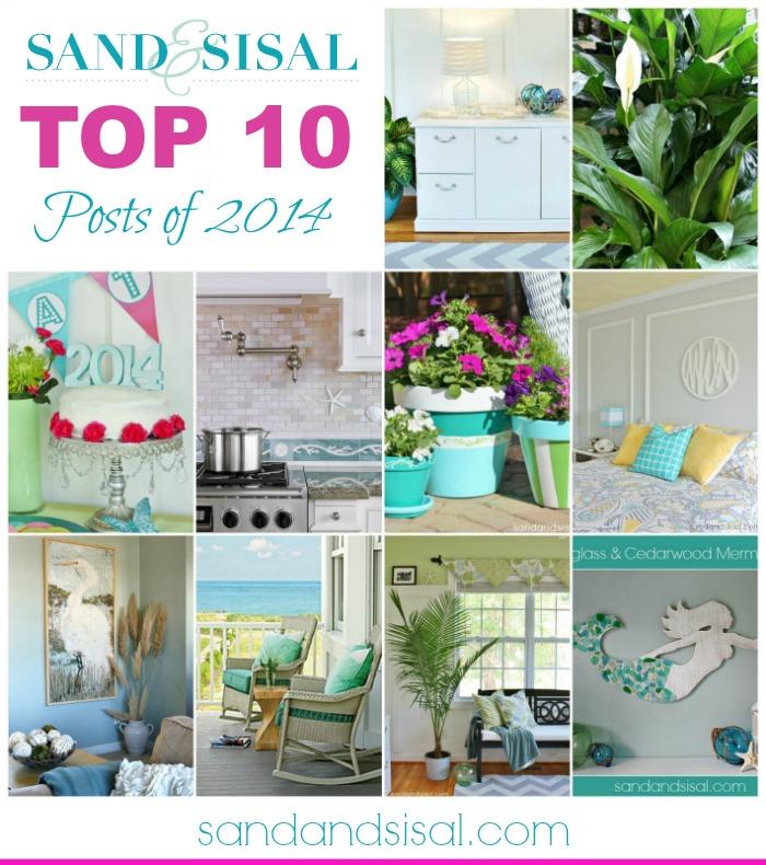 Sand & Sisal's Top 10 Posts of 2014