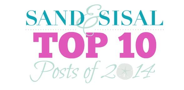 Sand & Sisal's Top 10 Posts of 2014 slide