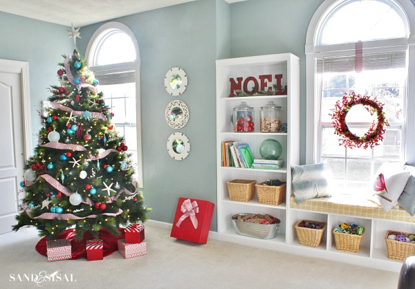 Coastal Christmas Home Tour -part 2