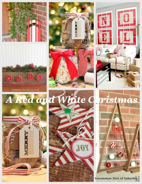 red-and-white Christmas