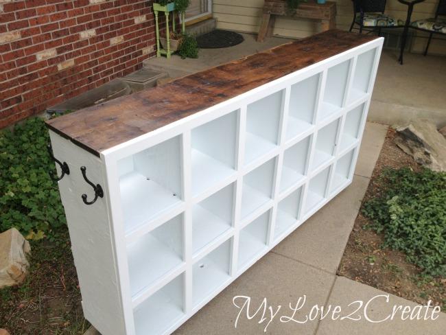 Cubby Shelf Revamp