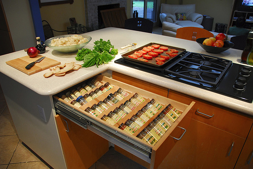 Svedahl roll out drawers for spices