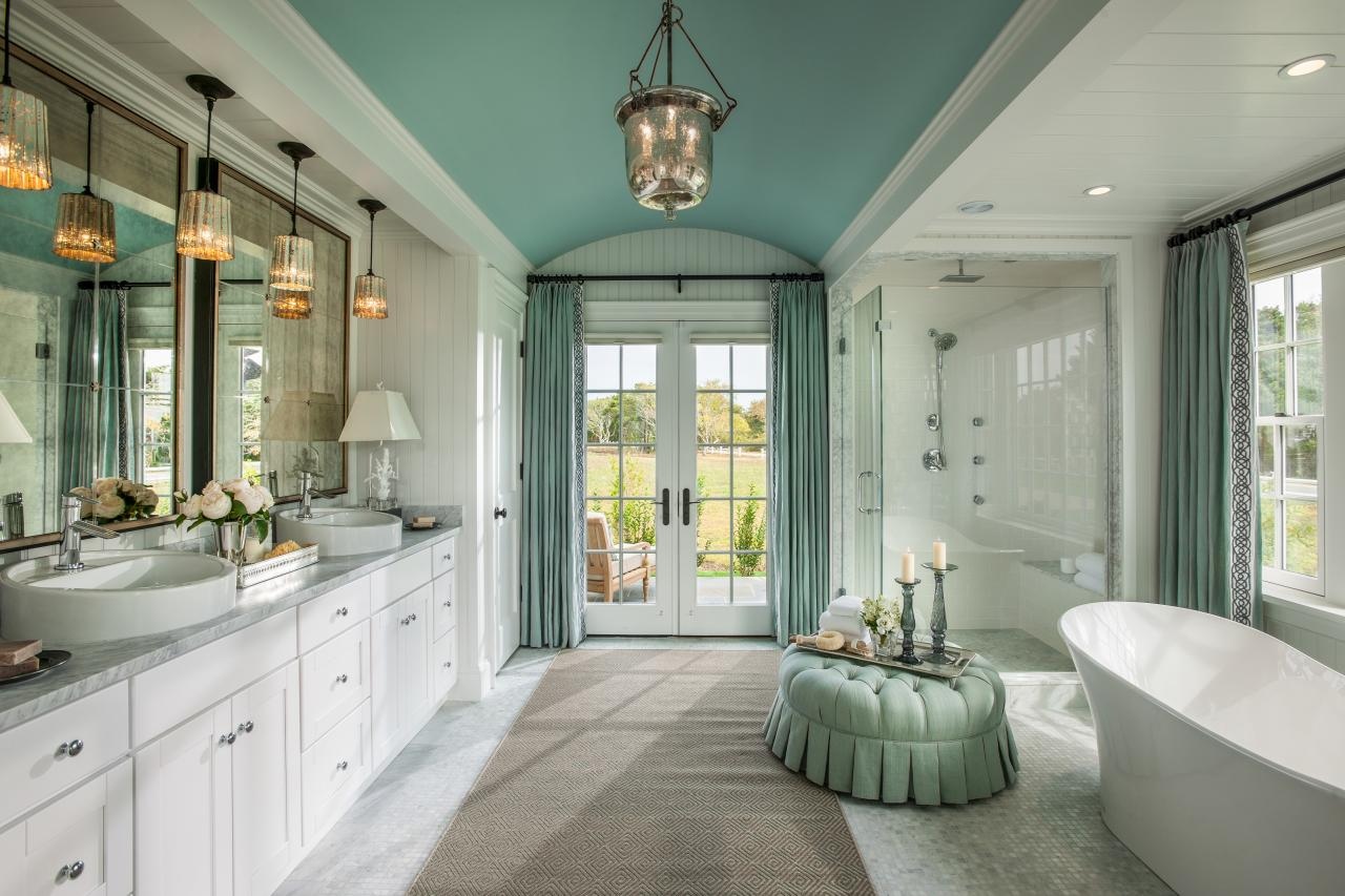 Hgtv dream home 2015 coastal escape sand and sisal for New home bathroom design