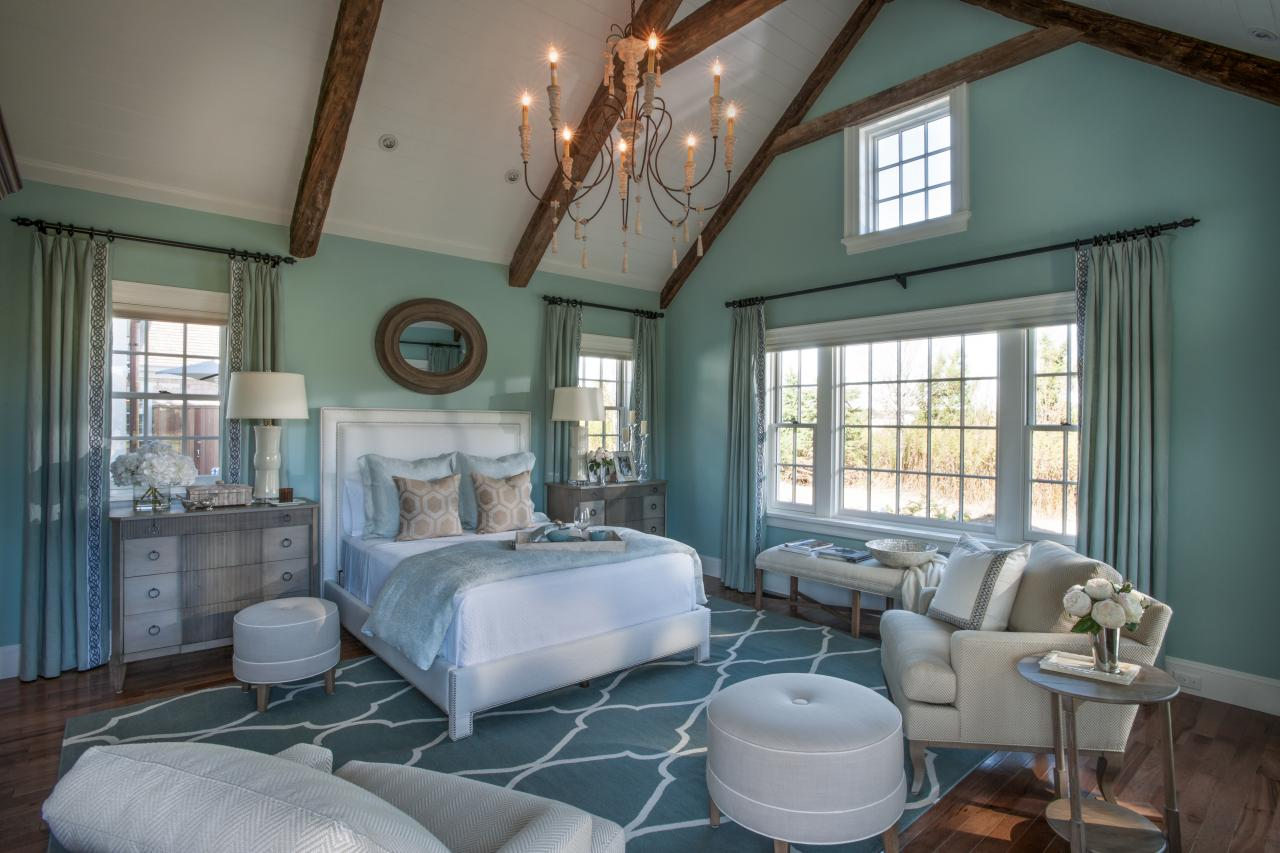 Hgtv dream home 2015 coastal escape sand and sisal - Beautiful bed room wall color ...