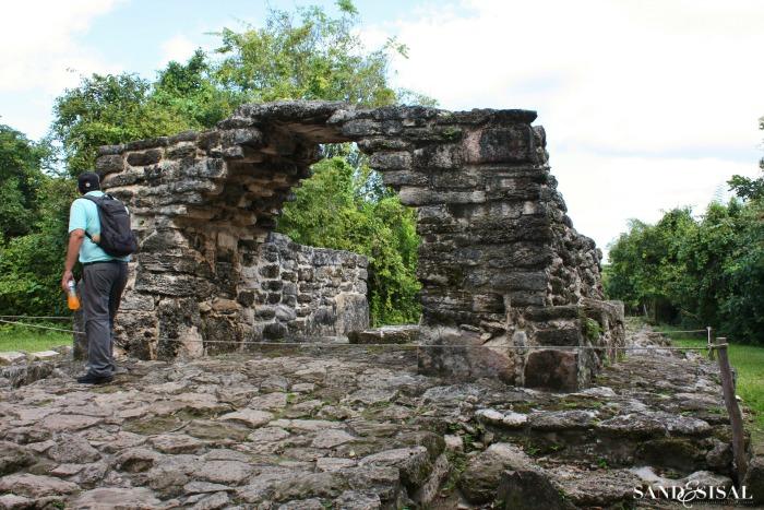 Mayan Ruins San Vergasio Cozumel