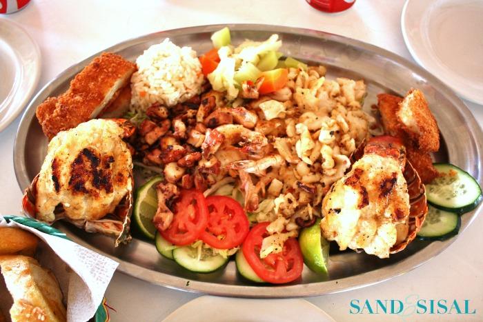 Seafood Platter- Fishermans Cozumel