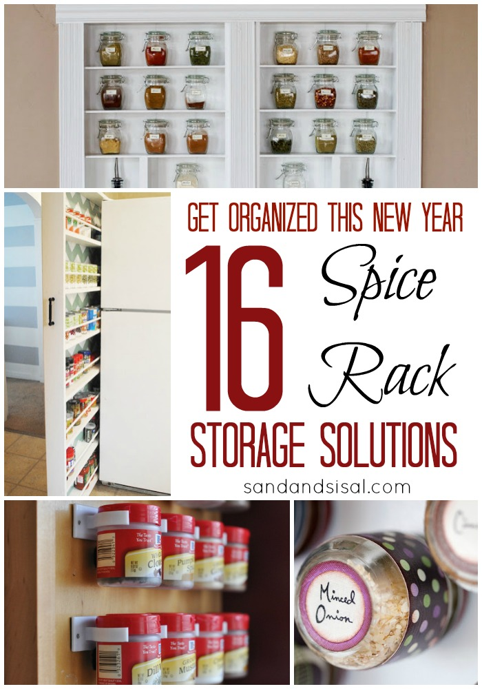 Delicieux Spice Rack Storage Solutions