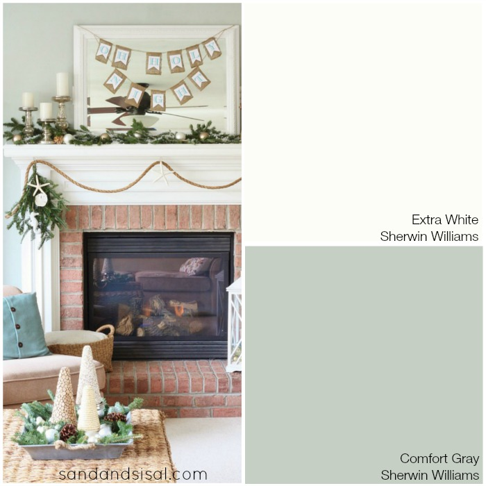 Coastal Colors Comfort Gray Sherwin Williams