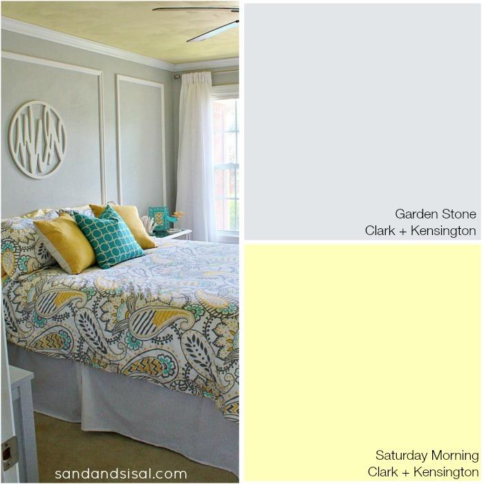Coastal Colors - Garden Stone + Saturday Morning - Clark + Kensington