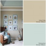 Coastal Colors - Urban Putty + Rainwashed - Sherwin Williams