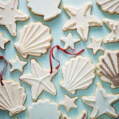 Coastal Cookies in White