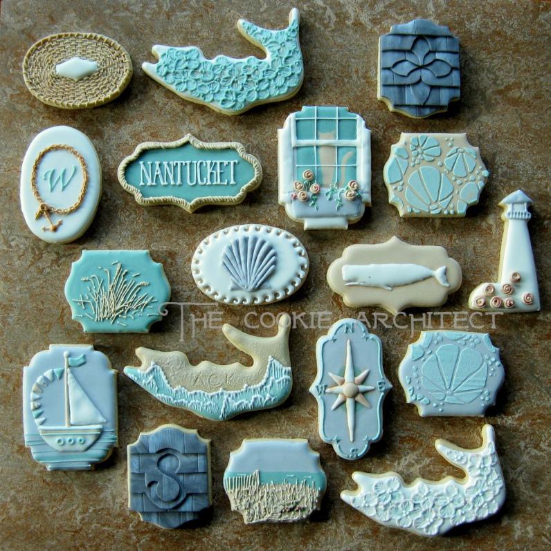 Nantucket Coastal Cookies
