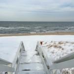 Snowy Boardwalk