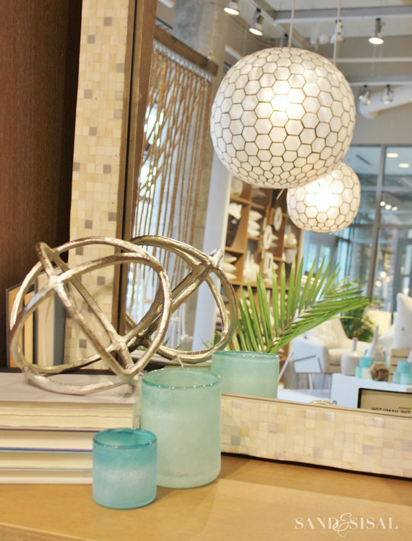 Capiz Globe Chandelier - West Elm