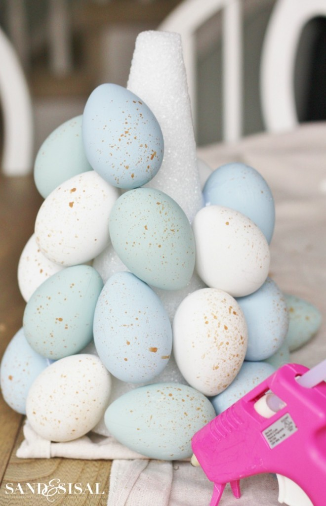 How to make an Easter Egg Topiary Tree