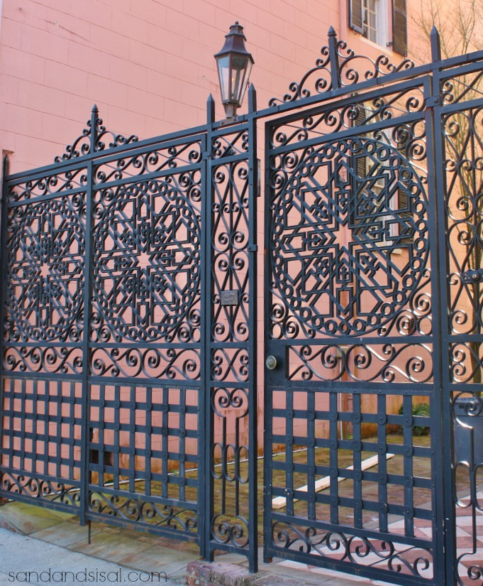 Iron Fretwork Gates - Charleston