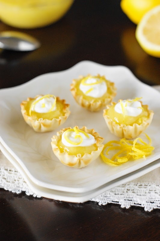 Lemon Curd Tartlets ~ The Kitchen is My Playground