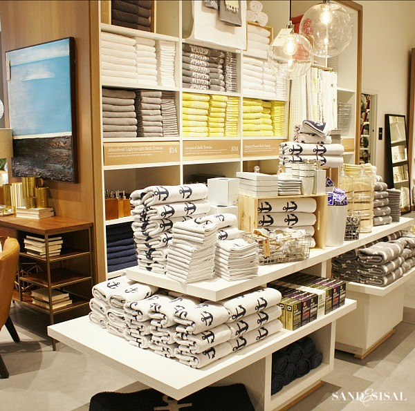 Navy And Grey Visual Merchandising Shop Display November: Shop With Me! West Elm Virginia Beach