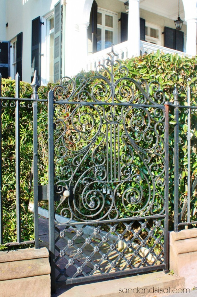 Ornate Iron Gates - Charleston