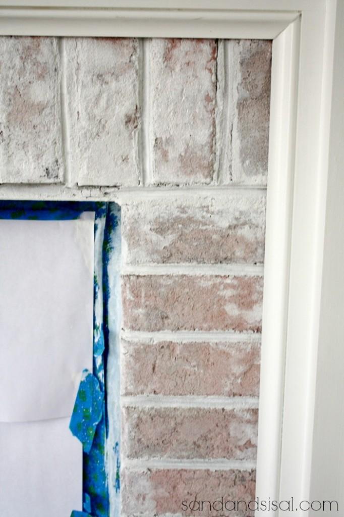 How To Whitewash Brick Sand And Sisal