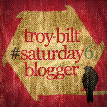 Troy-Bilt Saturday 6 Blogger