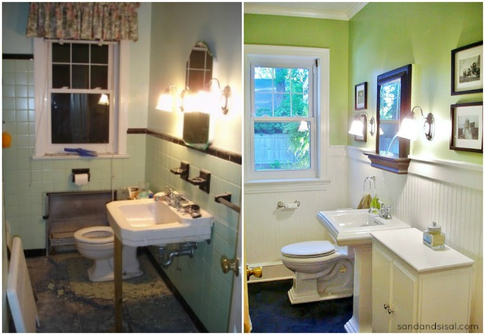 1949 Budget Bathroom Renovation