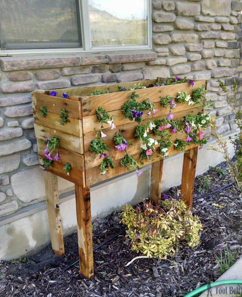 Diy Flower Gardening Ideas And Planter Projects: DIY Planter Projects