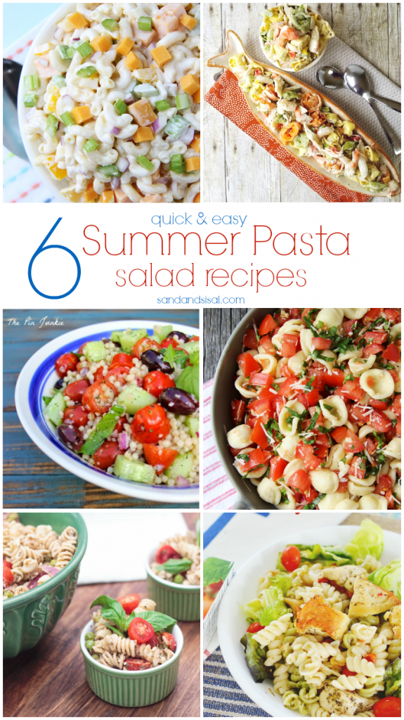 6 Quick and Easy Summer Pasta Salad Recipes