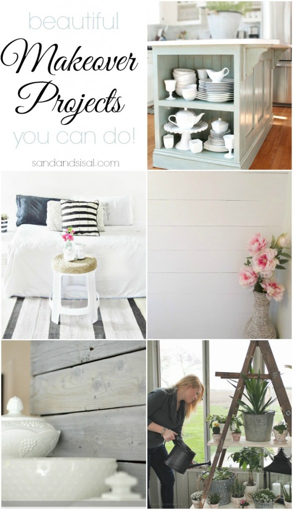 Beautiful Makeover Projects You Can Do