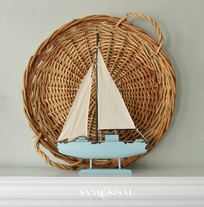Coastal Mantel -  Sailboat from Kirklands