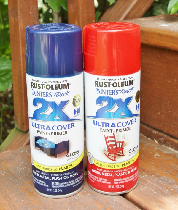 Rust-oleum painter's touch spray paint