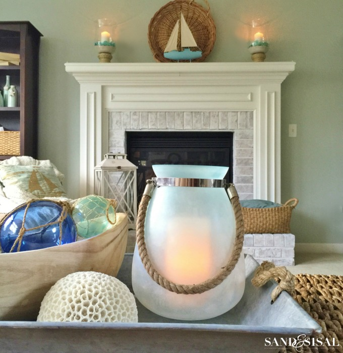 Sea Glass Lanterns - Kirklands