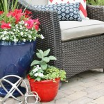 Spray Painting Ceramic Pots and Planters