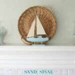 Summer Coastal Mantel