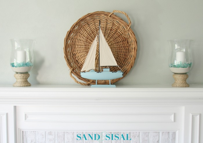Summer Coastal Mantel