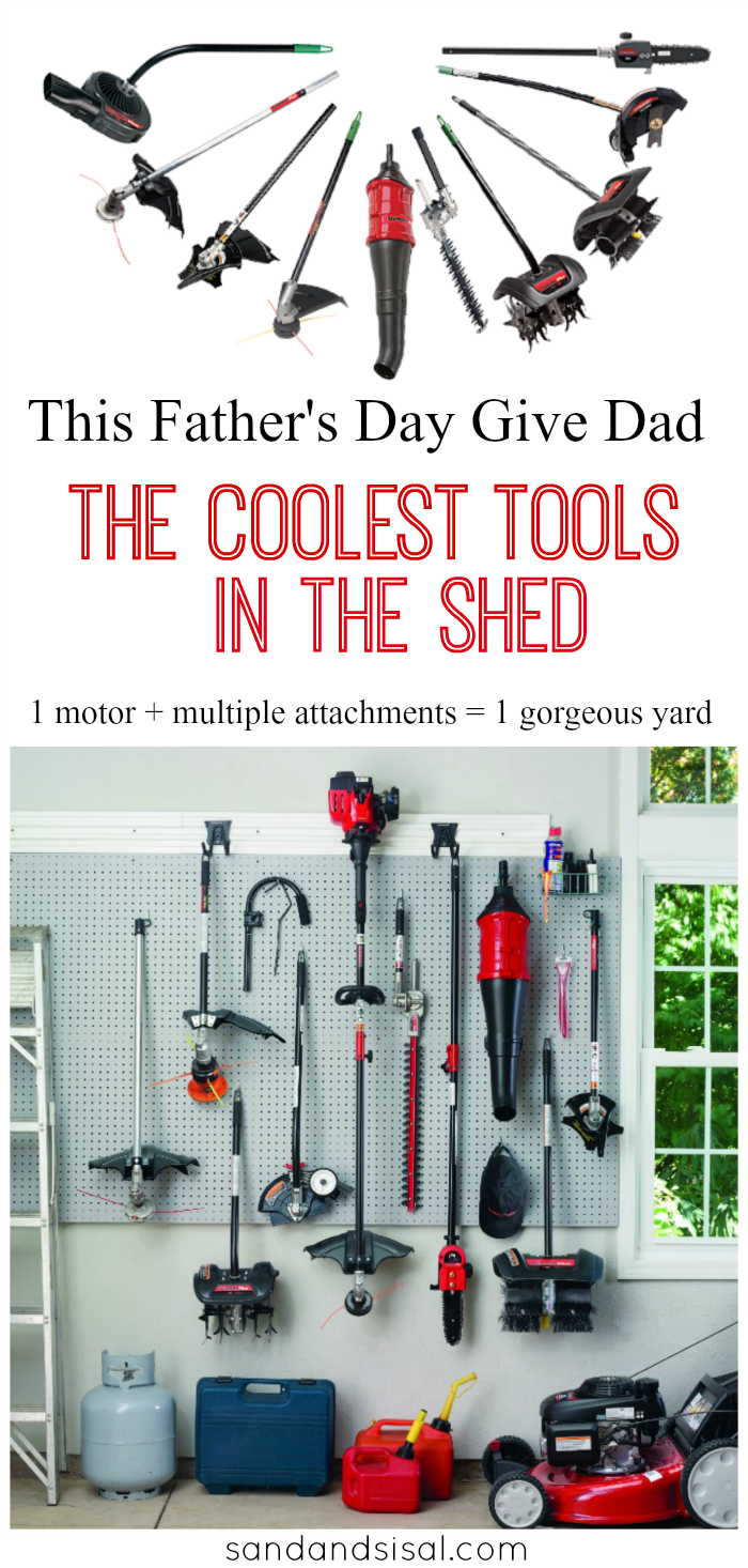 The Coolest Tools in the Shed + Father's Day Giveaway