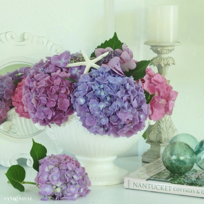 Hydrangea Summer Arrangements
