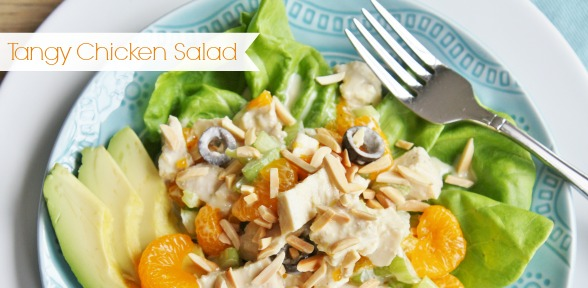 Tangy Chicken Salad -slide