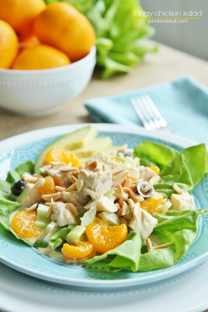 Chicken Salad With Roasted Bell Peppers And Toasted ...