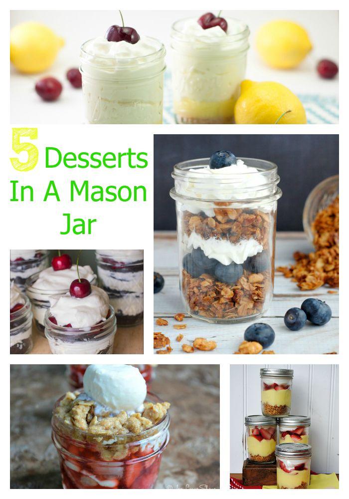 5-Desserts-in-a-Mason-Jar