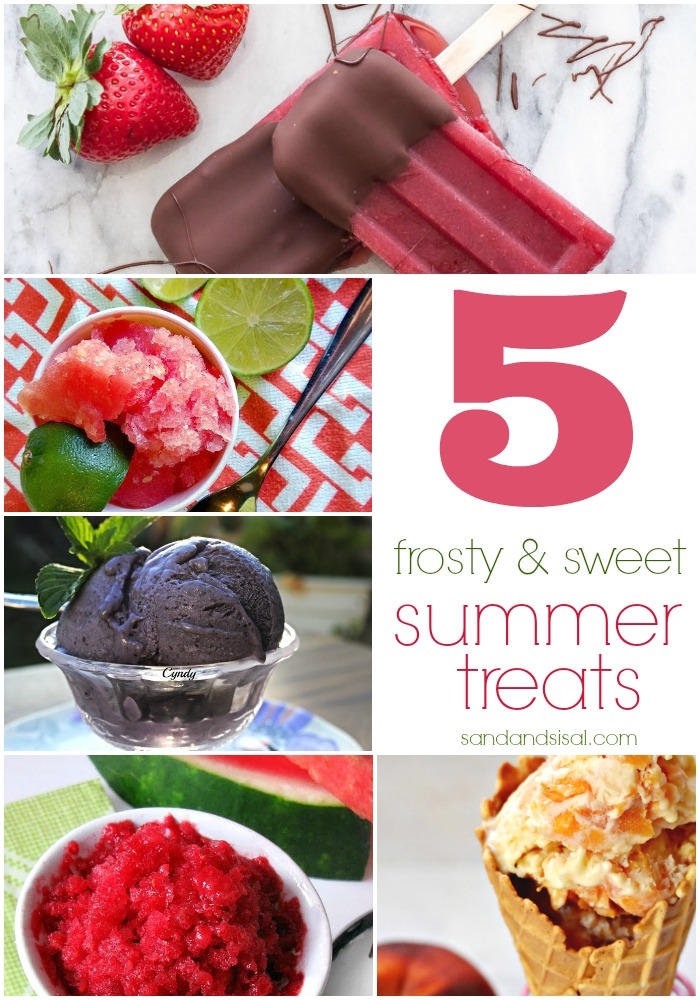 5 Frosty & Sweet Summer Treats