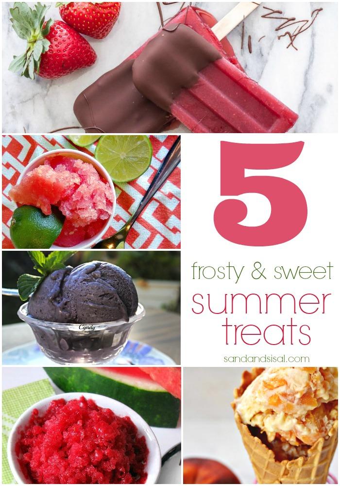 5 Frosty & Sweet Summer Treats