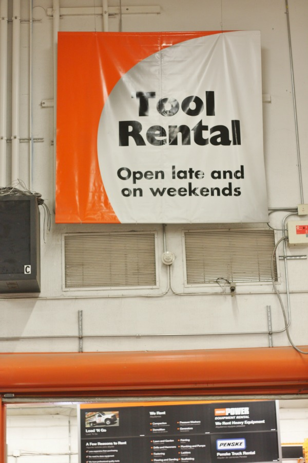 Nice Amazing Tool Rental Department At Home Depot