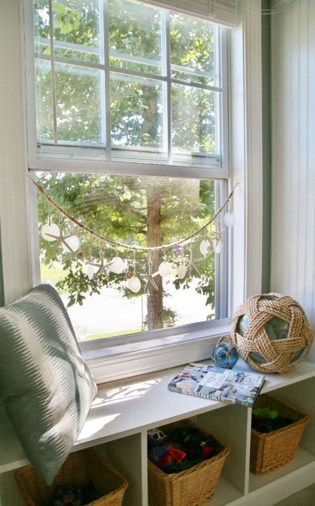 Sea Chimes -  DIY Shell window chimes