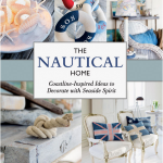 If you are looking for a gorgeous coffee table book then you will love The Nautical Home by Anna Ornberg. This coastal decor book is full of simple tutorials