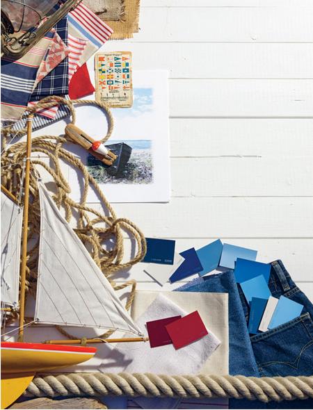 The Nautical Home - coastal decor ideas and tips
