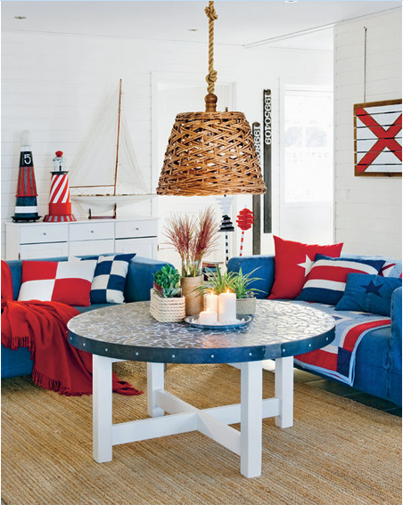 The Nautical Home- Gorgeous coastal DIY tutorials and decor ideas