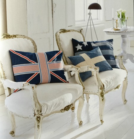 The Nautical Home - Flag Pillows 2